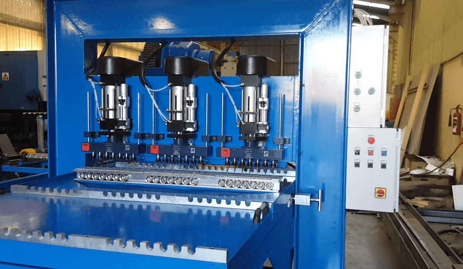 Automated Multi-spindle Drilling Machine